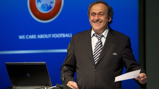 Michel Platini (UEFA member association presidents and general secretaries meeting)