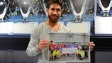 Thumbs up for ICRC project from Madrid captain Ramos