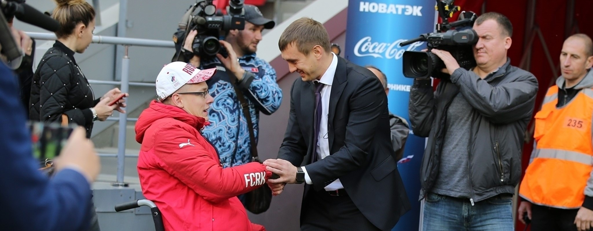 Russian football authorities proving disability is no obstacle
