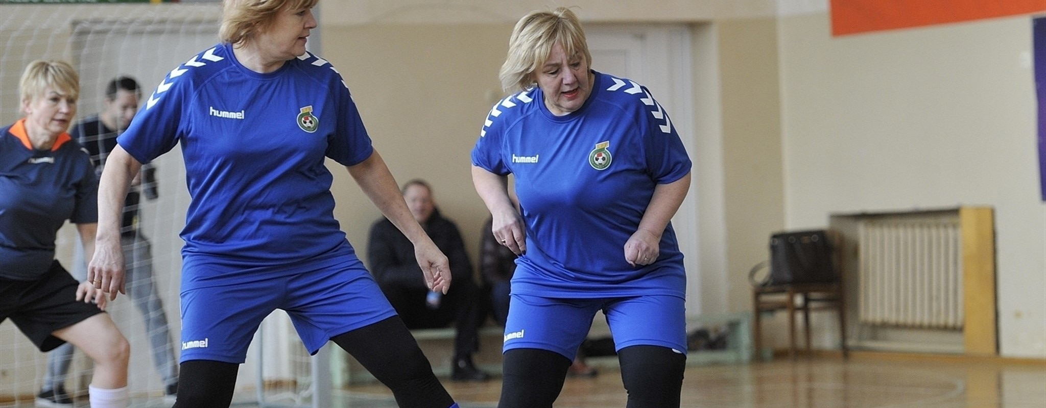 Meet the footballing grannies from Lithuania