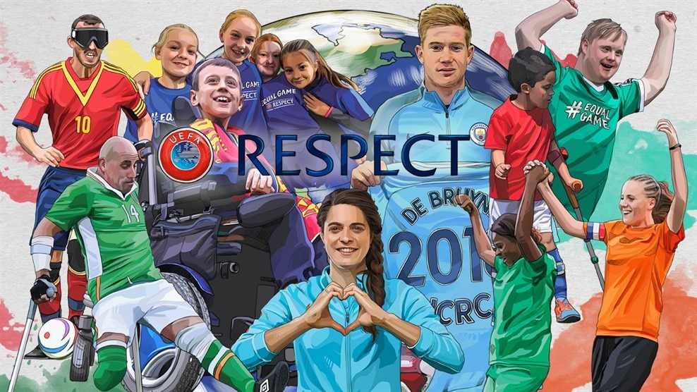 Image result for UEFA Football and Social Responsibility fund IMAGES