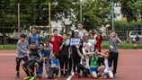 Football helping Romani youngsters to succeed in life