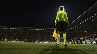 UEFA Europa League knockout debut for VAR system