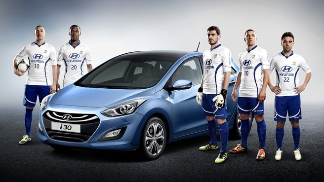Five UEFA EURO 2012 stars join Team Hyundai