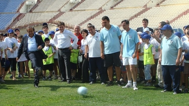 UEFA partner keeps football fun for Georgian kids