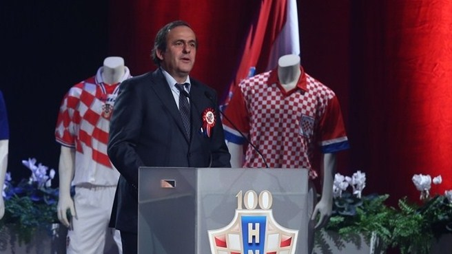 Michel Platini in Croatia
