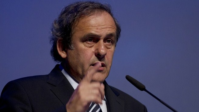Referees can act against racism – Michel Platini