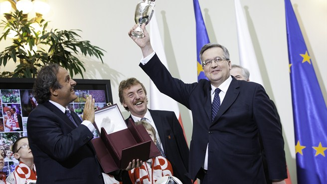 UEFA President thanks Poland for EURO 2012