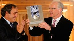 Beckenbauer and Moore recognised