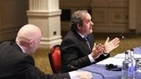 Michel Platini (UEFA Executive Committee meeting in London)