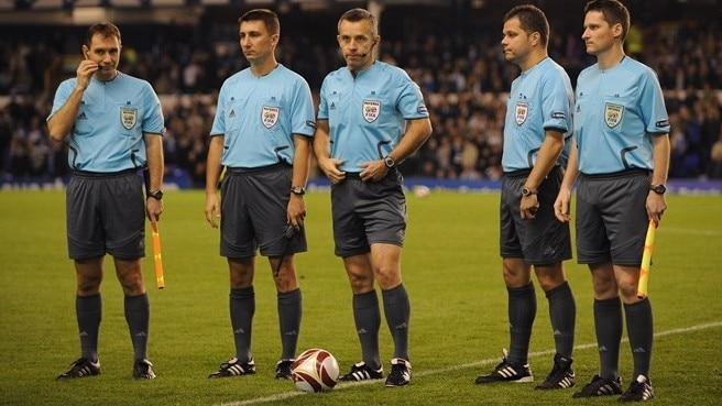 Publicity spot explains referee experiment