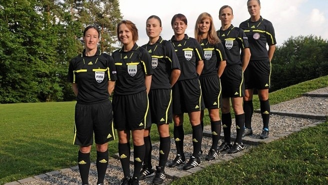 Women referees warm up for summer assignments