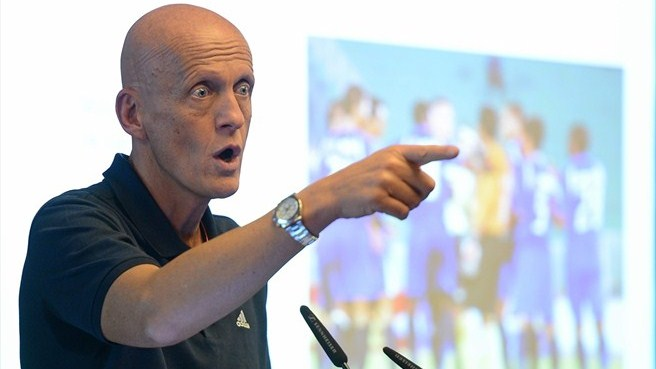Pierluigi Collina (22nd UEFA Introductory Course for International Referees in Rome)