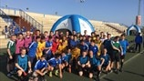 UEFA assistant referee training in Malaga