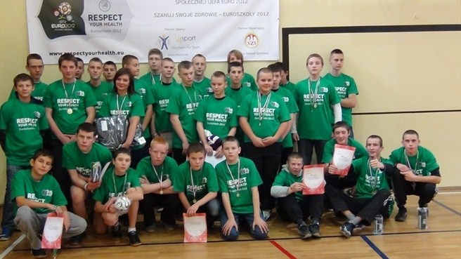 Volleyball event is Respect lesson for Polish pupils