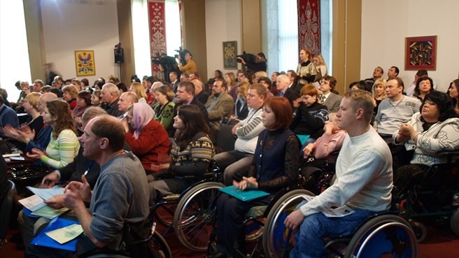 Kyiv disability congress backs game with no limits