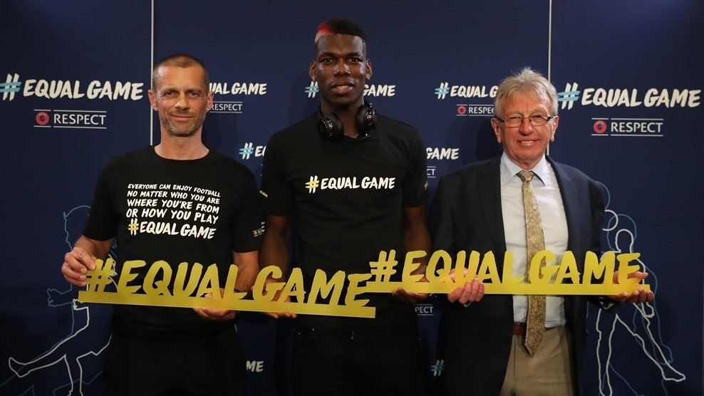 uefa and global football stars team up to launch new respect campaign uefa com