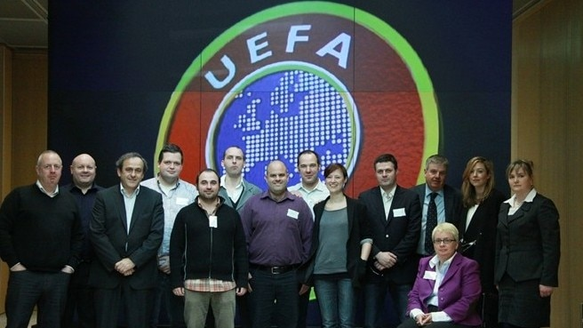 UEFA meets supporters groups in Nyon