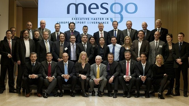 MESGO's first generation graduates in Nyon