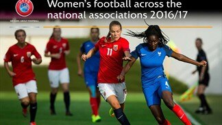 Women's football across the national associations