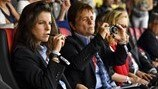 Technical Observers at UEFA Women's EURO 2017: Patricia González and Anne Noé