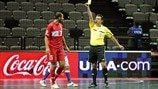 Futsal's accumulated foul rule