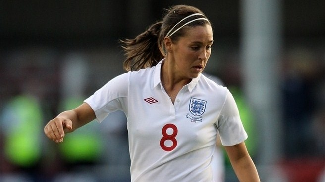 England's Fara Williams