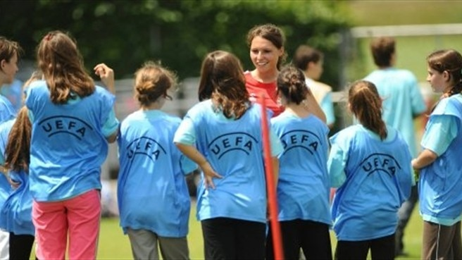UEFA sets goals for girls' football