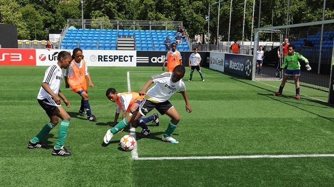 UEFA Champions Festival gets South American feel