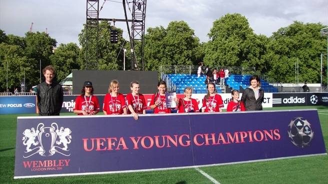 Young Champions bask in London limelight