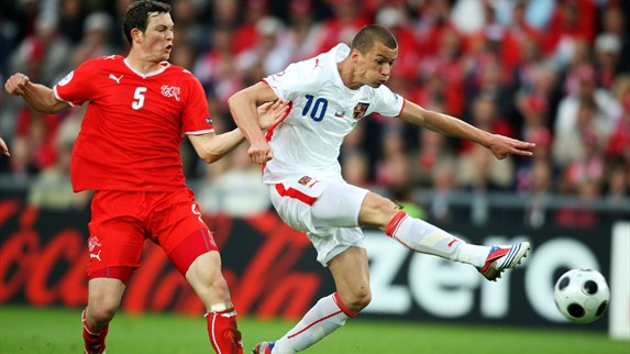 Svěrkoš relives UEFA EURO 2008 strike
