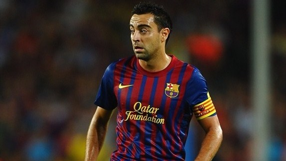 Xavi on passing and control