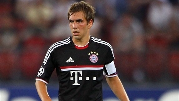 Philipp Lahm in focus